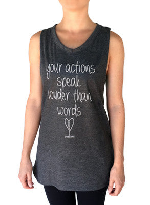 Your Actions SweetFit Ladies Flow Tank