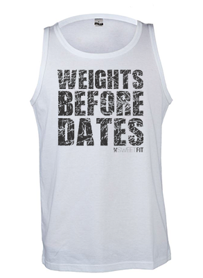 Weights before dates (Men)