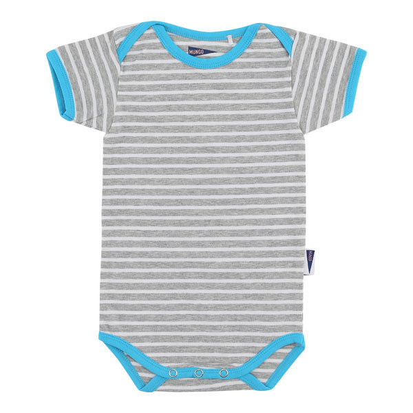 Alfie Baby Body in Bright Turquoise
