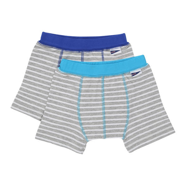 Boys boxers with great shape and fit in Blue