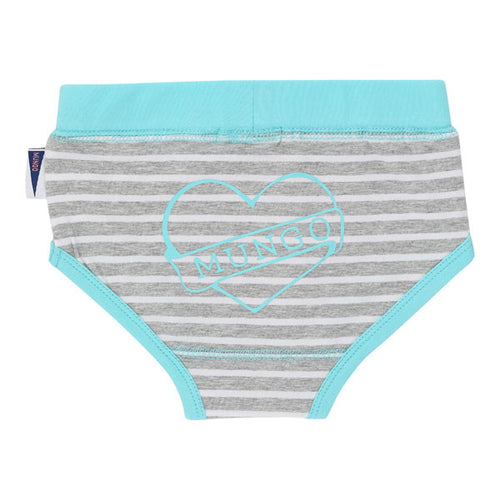 Ava Panties in Caribbean Blue