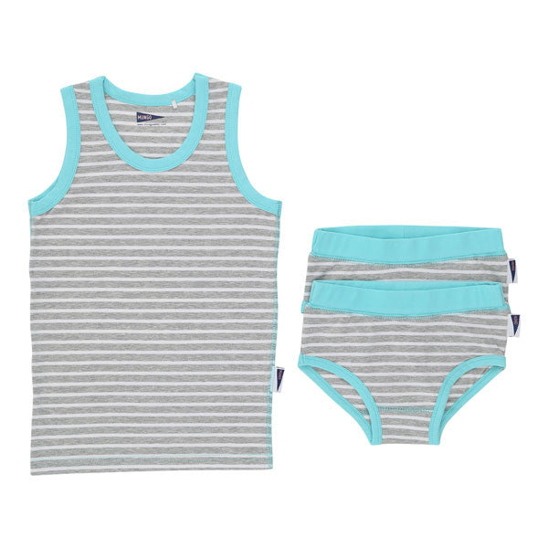 Ava Set in Caribbean Blue