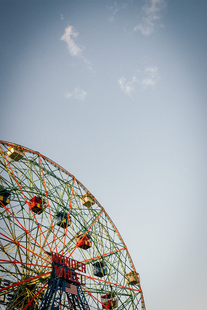 Wonder Wheel, Limited Print