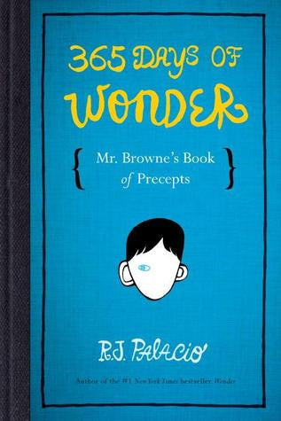 365 Days of Wonder Book Cover