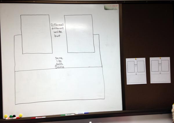 Whiteboard with Maps