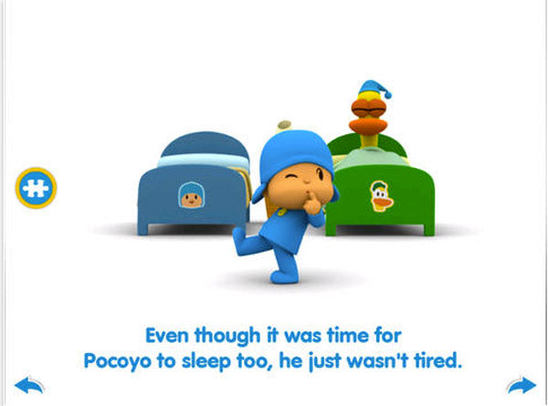 Pocoyo Screen 1