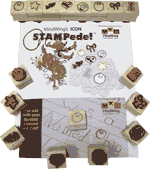 MindWing STAMPede Stamp Set