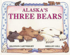 Alaska's Three Bears book cover