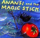 Anansi and Magic Stick cover