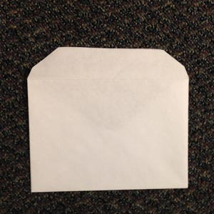 Blank Square Flap Envelope