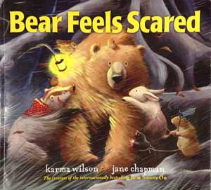 Bear Feels Scared Book Cover