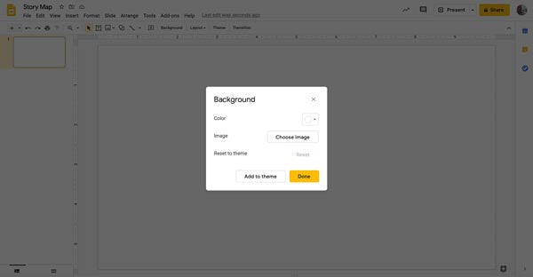 Google Drive-choose custom image