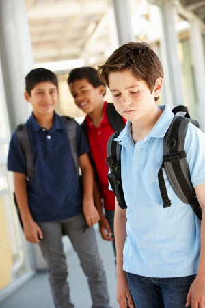 Boy Being Bullied picture