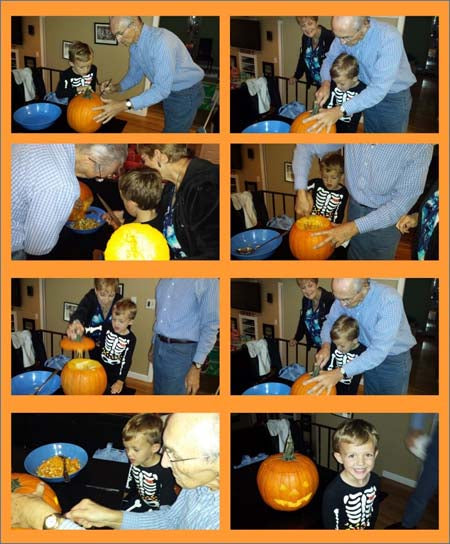 Carving the Jack O' Lantern
