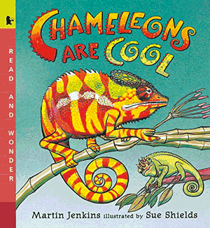 Chameleons Are Cool! book cover