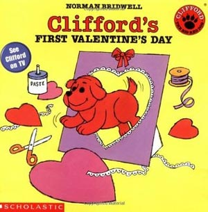 Clifford's First Valentine's Day cover