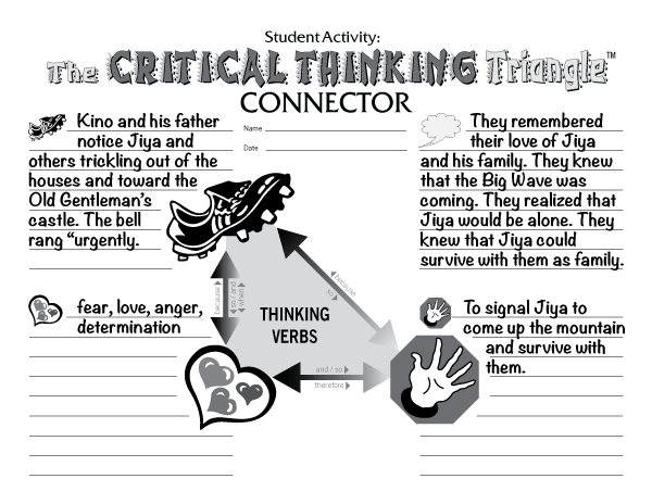 Critical Thinking Triangle 3