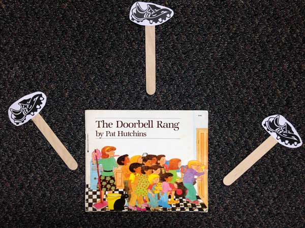 The Doorbell Rings Activity Materials
