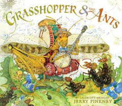 Grasshopper and the Ants book cover