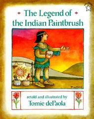 The Legend of The Indian Paintbrush Book Cover