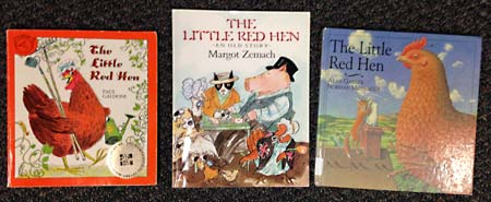 The Little Red Hen Books