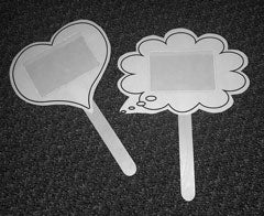 Popsicle stick Heart and Bubble image