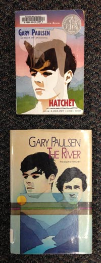 Hatchet / The River Book Covers