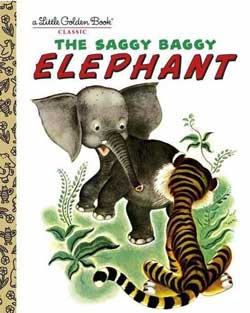Saggy, Baggy elephant Book Cover