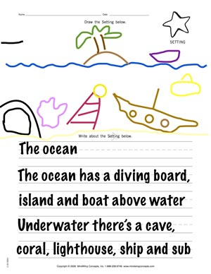 Draw and Write Activity Sample 1