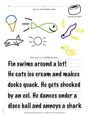 Draw and Write Activity Sample 2