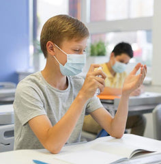 Student with Mask image