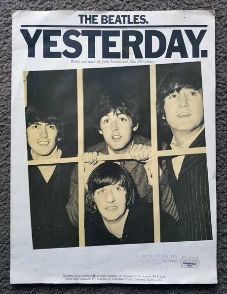 Beatles Yesterday Poster image