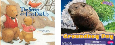 Two Groundhog Day books image
