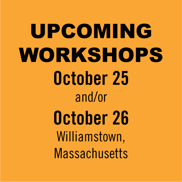 October 2016 Workshops