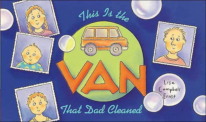 The Van That Dad Cleaned Book Cover