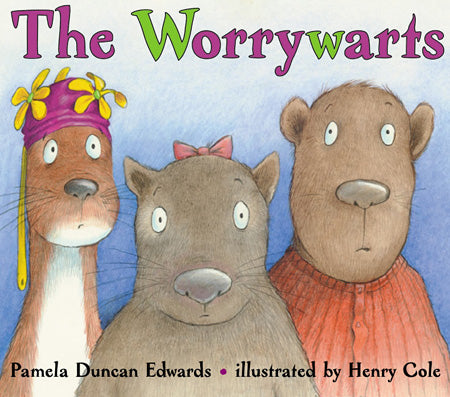 """Worrywarts Book Cover"