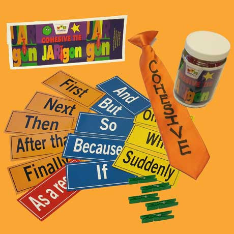 Cohesive Tie JAR-gon Activity Kit