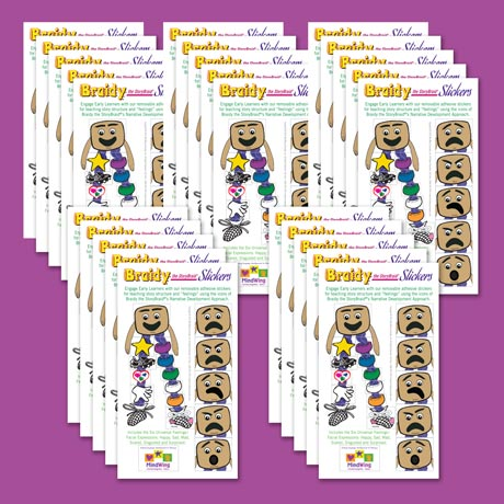 Braidy Stickers image