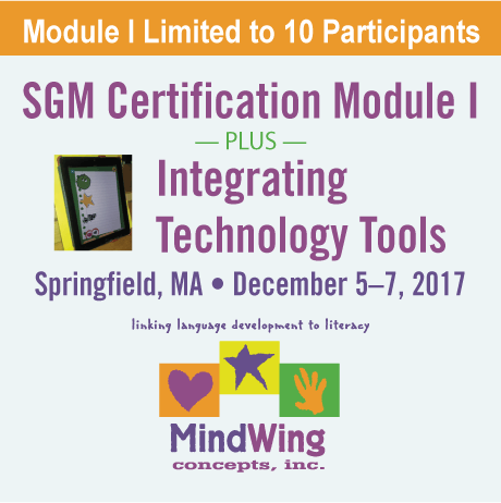 SGM Certification Module I and Integrating Technology Tools — December 5-7, 2017