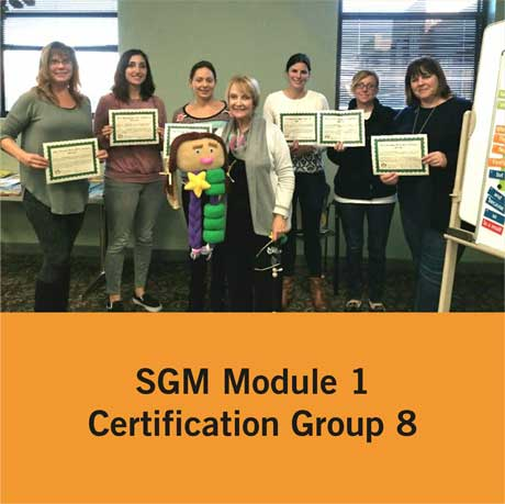 Certification Group 8