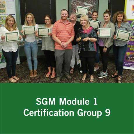 Certification Group 9