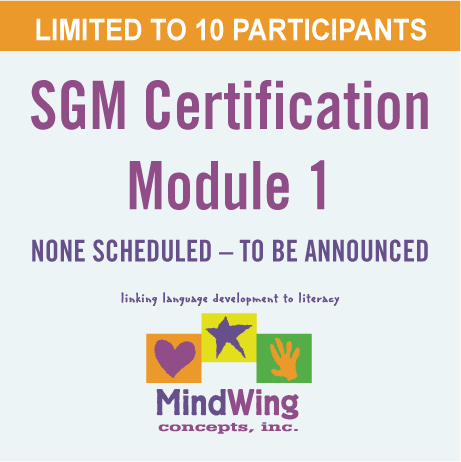 SGM<sup>®</sup> Certification Module 1