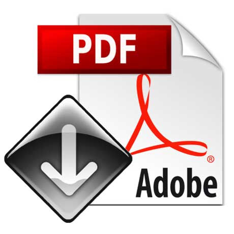 Adobe PDF Download symbol
