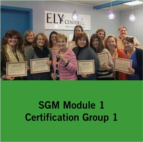 SGM Certification Group 1