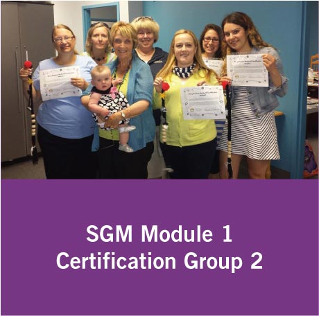 SGM Certification Group 2
