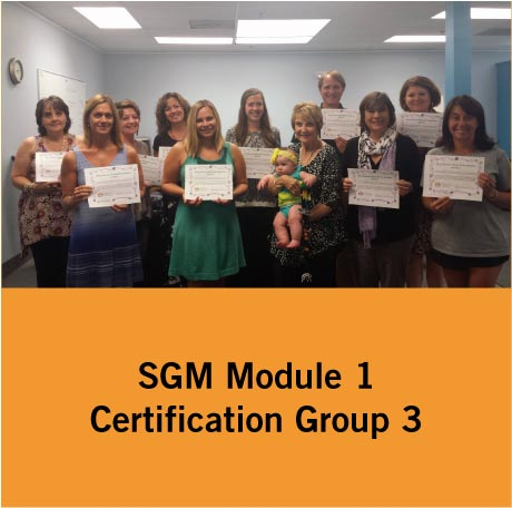 SGM Certification Group 3