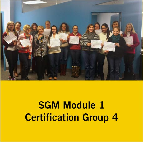 SGM Certification Group 4
