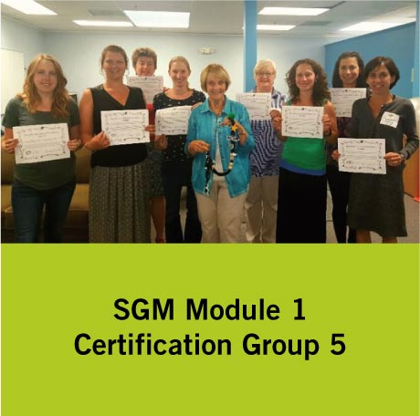 SGM Certification Group 5