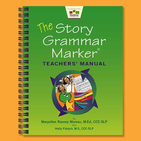 Story Grammar Marker Teachers' Manual Cover