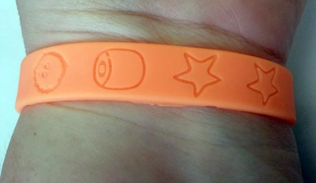 Wristband Close-Up image